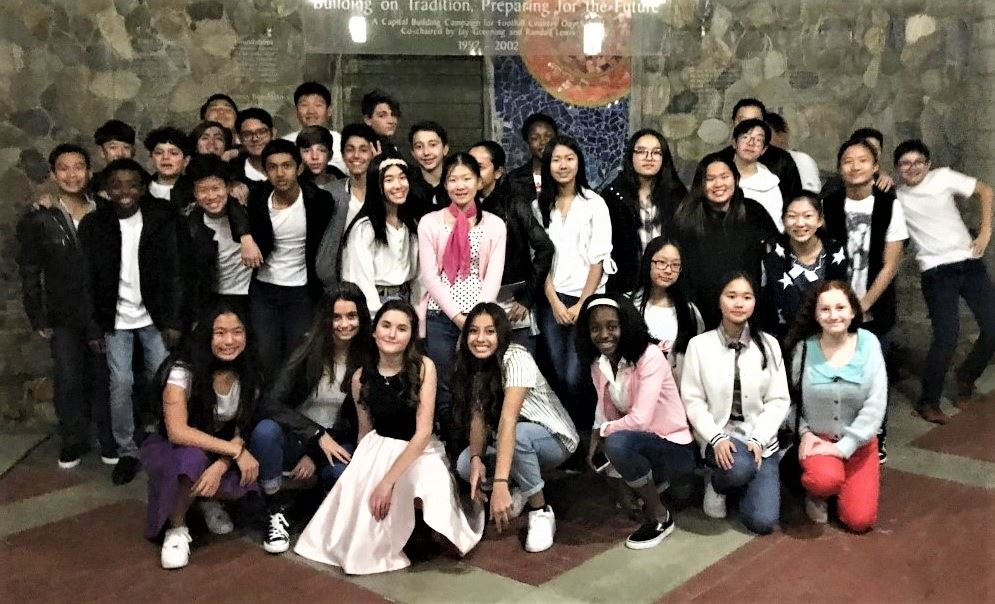 Class of 2020 in 50s costume for Fortnightly