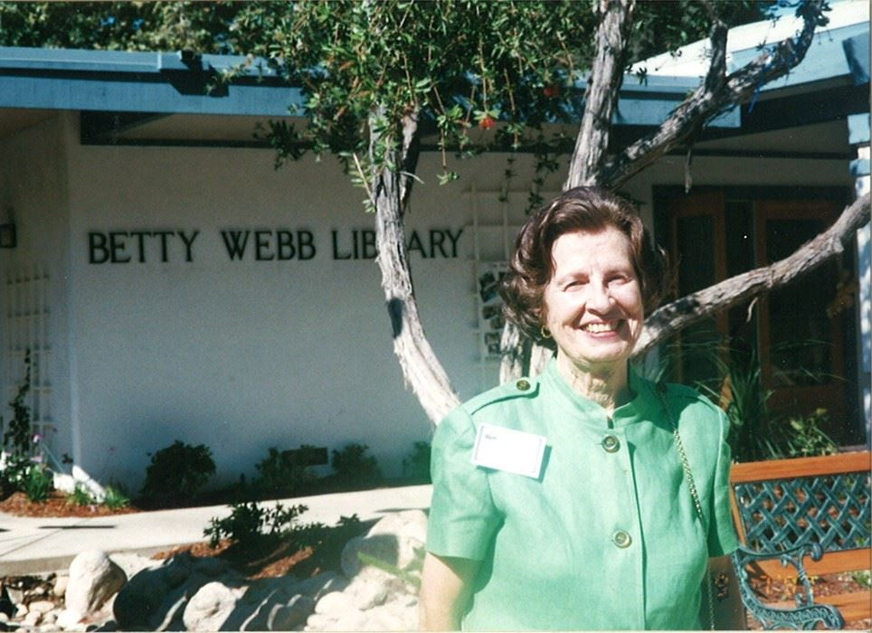 Celebrating Betty Webb