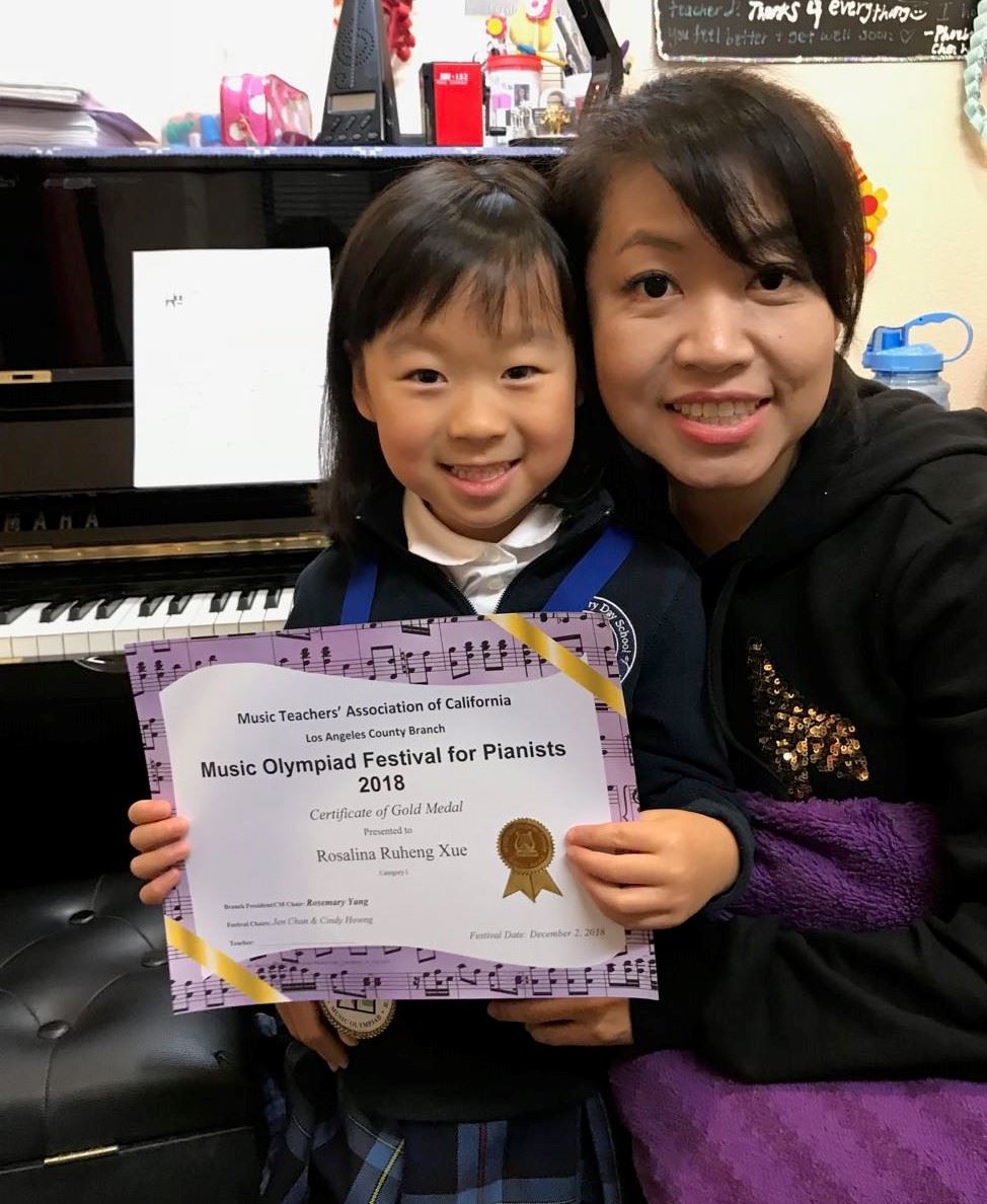 Kindergartener Wins Music Olympiad Festival for Pianists